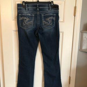 """Silver Jeans """"Suki"""" 31x32"""